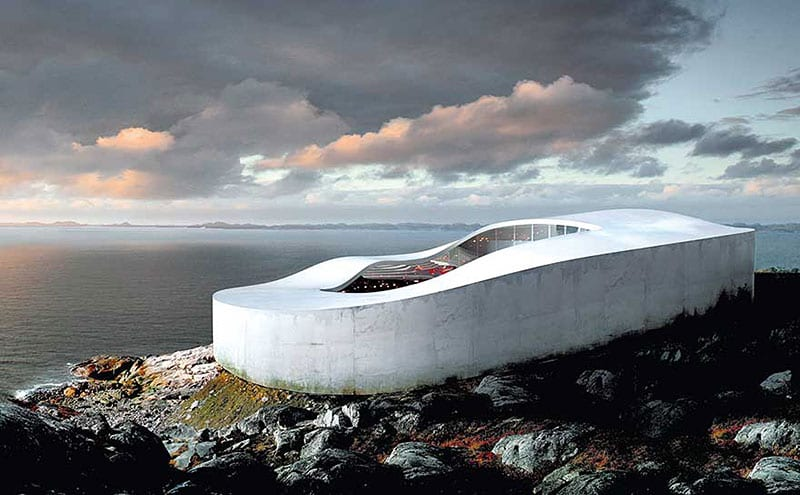 Greenland's future National Gallery of Art in Nuuk, architect Bjarke Ingels, BIG.