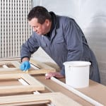 Alan Black owner of Artists Surfaces, supplier of artists materials and bespoke framing.