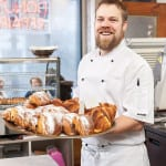 Stephan Spicknell owner of the Cottonrake Bakery on Great Western Road.
