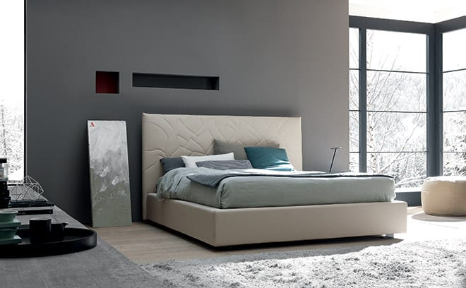 Go Modern SMA Loto contemporary bed