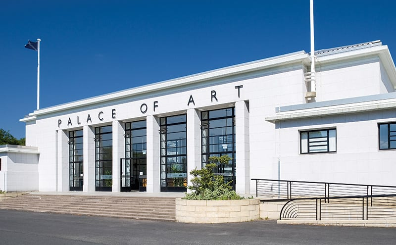 The Palace of Art was built for the 1938 Empire Exhibition