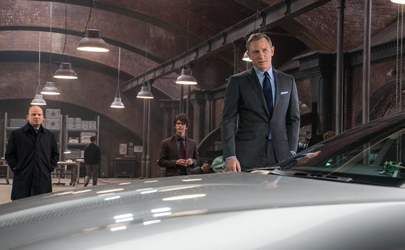 Film clip from Spectre