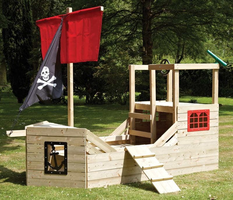 Captain Jack Sparrow, eat your heart out! The Pirate Galleon from TP Toys is one impressive vessel. As well as a ship's wheel and a mast, there a captain's cabin to retire into after a long day on the ocean wave. There's even a gangplank for dispatching your enemies. £449.99.