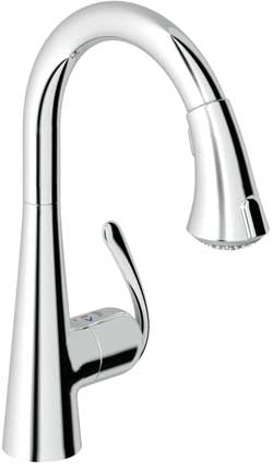 The Zedra Touch kitchen tap by Grohe
