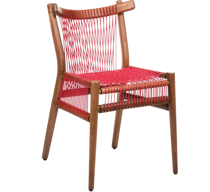 WEAVE IT this cool piece is the Loom Chair from H Furniture