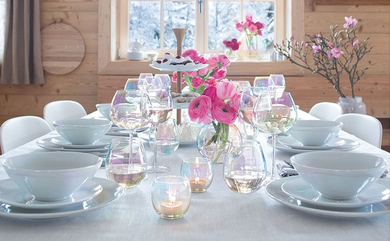 Pearl Collection glassware, from £15, LSA International