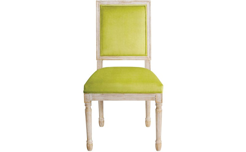 Beaumont Lime Chair Square Back, £199.99, MY Furniture