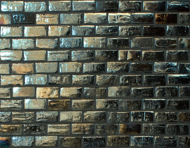 Sanctuary Brick Mosaic Storm tile, £95 per sq m, The Baked Tile Company