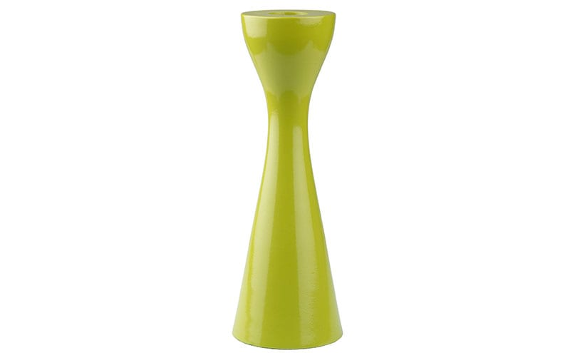 Coloured Metal Candle Holder, £20, The Contemporary Home
