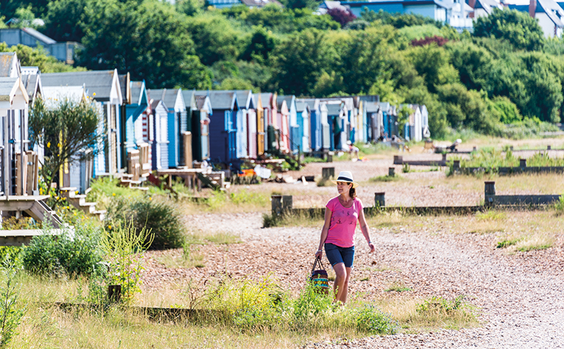 Jo sets off to Whitstable's high street to stock up on coffee and pasties