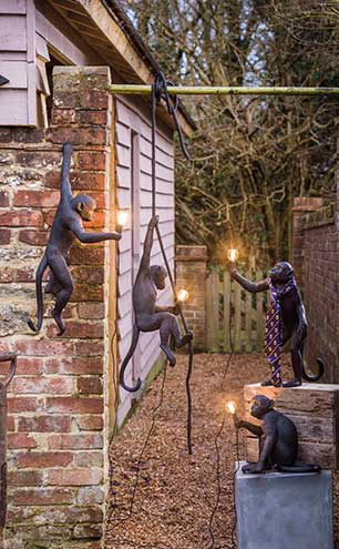Outdoor Monkey Lights, from £190, Graham & Green