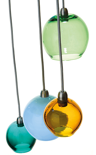 LOOKING GLASS Curiousa & Curiousa's spectacular Cordero light will pack a punch in the home