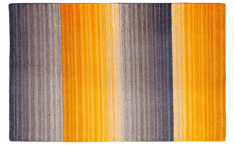 PULL THE RUG Treat your floor to a piece from Miko Designs' Stripes collection