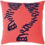 6Yves Delorme high-KTigre-Coussin-Rouge-Recto