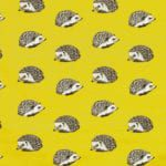 *featPrestigious Textiles Hedgehog in Jonquil from the Nature collection by Prestigious Textiles