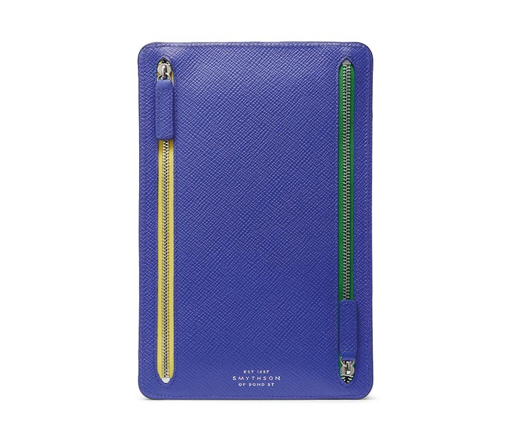 Panama zip currency case, £210, Smythson