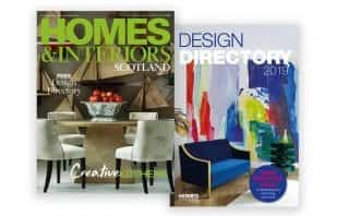 Homes and Interiors Scotland cover