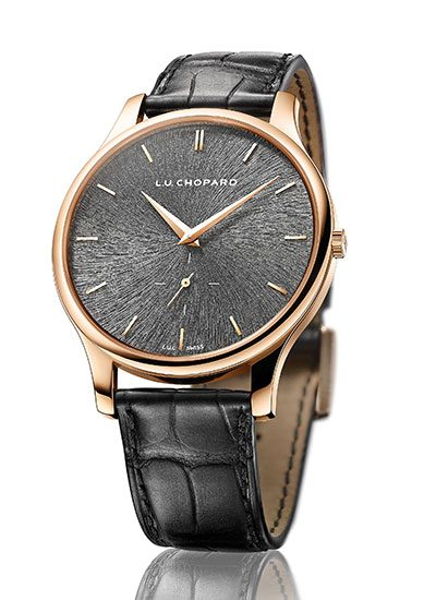 The Chopard L.U.C. XPS in Fairmined rose gold