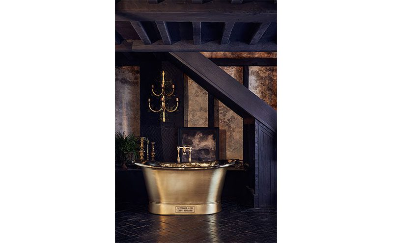 Gold bath by Catchpole & Rye