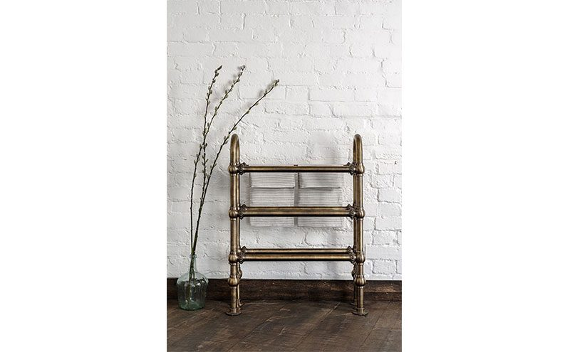 towel rail by Catchpole & Rye
