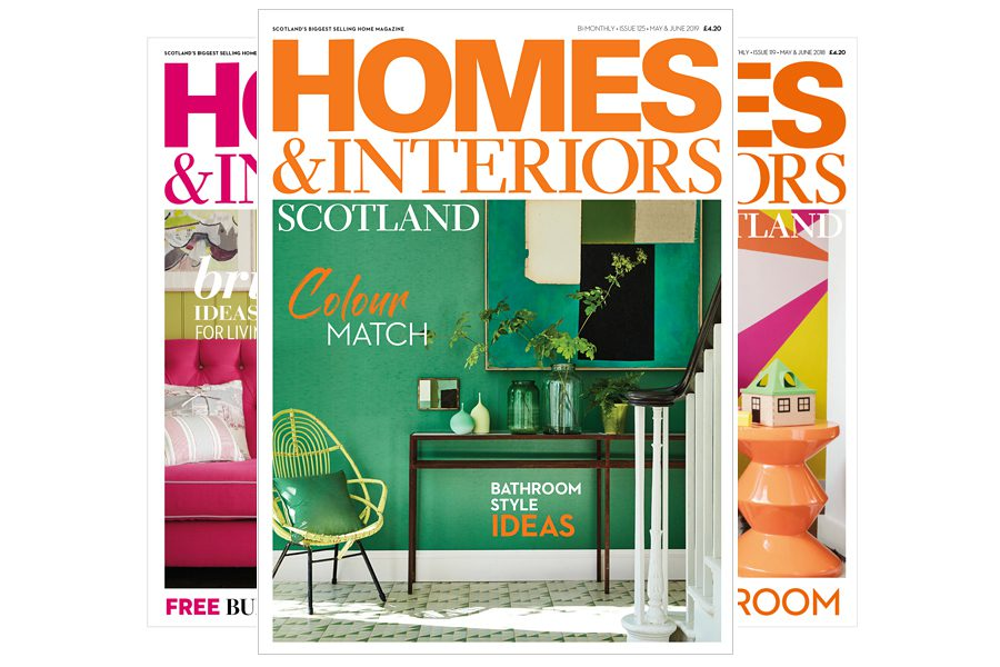 Homes & Interiors Scotland - 1 year for £18
