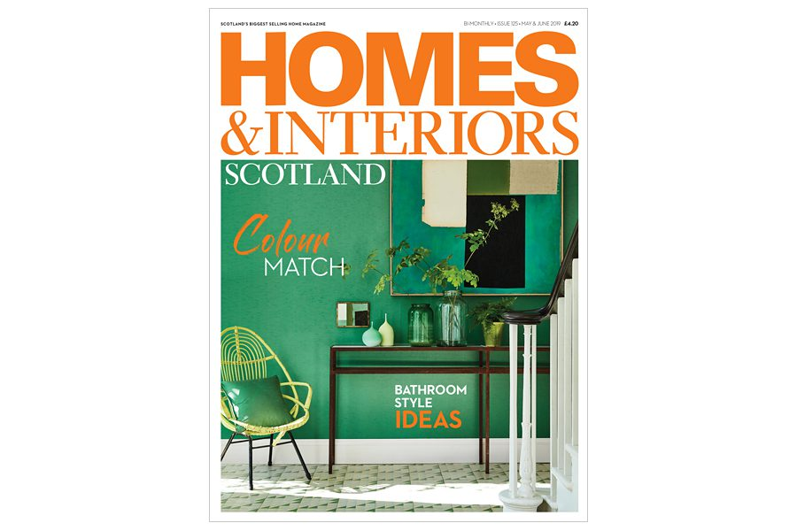 Homes & Interiors Scotland subscription - single issue for £6.40 including postage