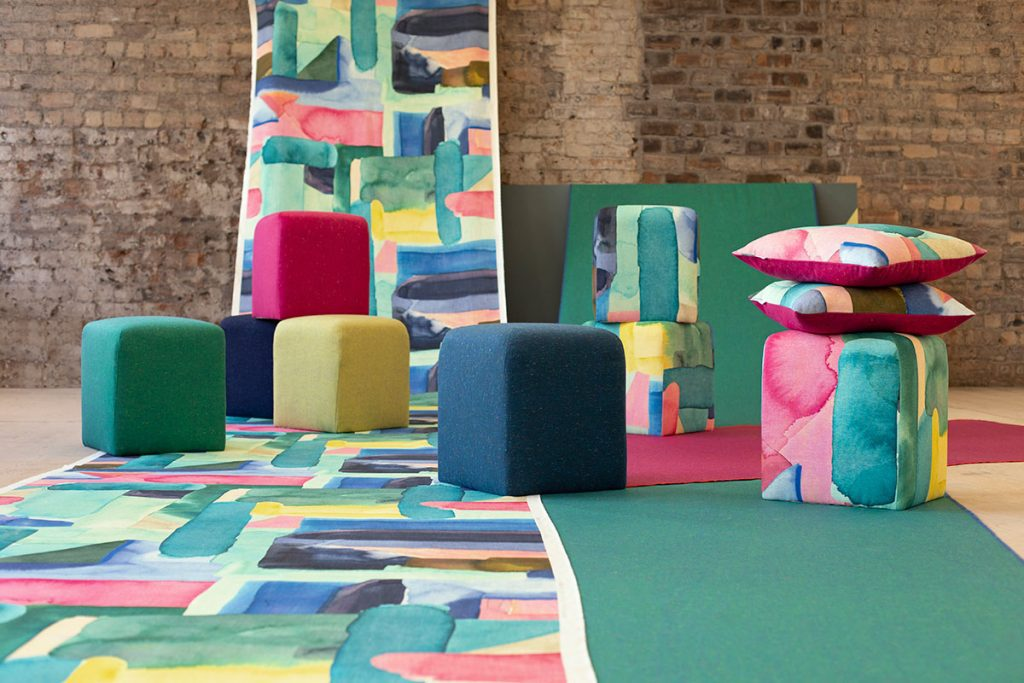 Scottish textile heavyweights Bluebellgray and Bute Fabrics have collaborated