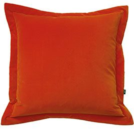Orange-velvet-cushion-Rume