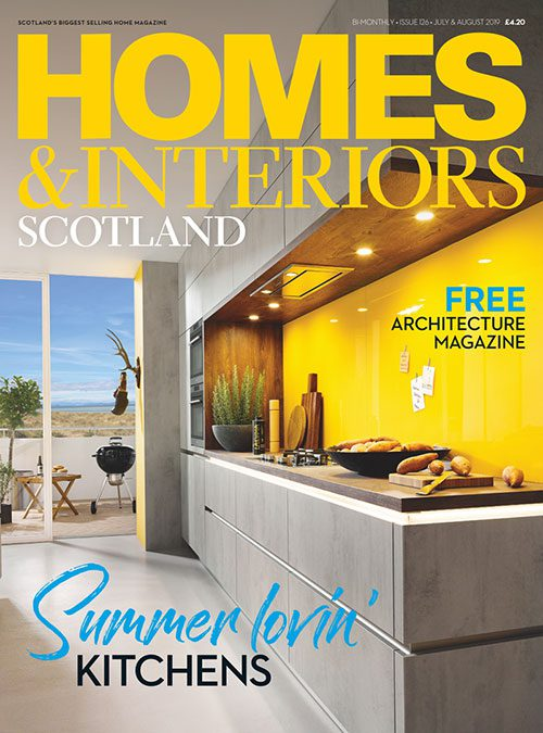 Homes & Interiors Scotland issue 125 May June 2019 front cover