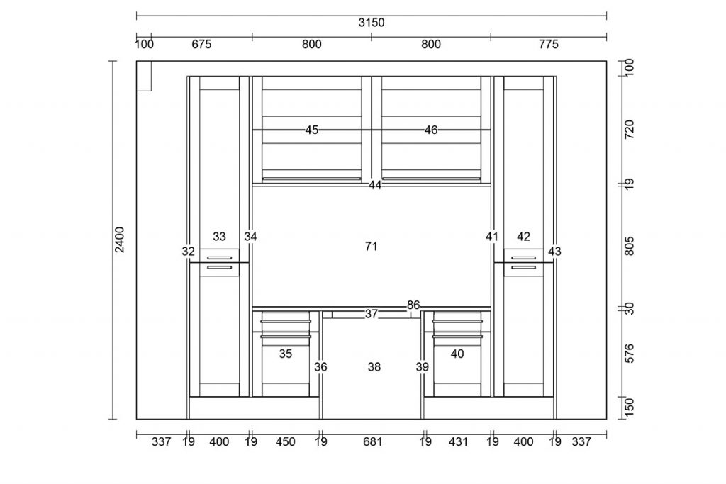 Kitchen-plan-drawing