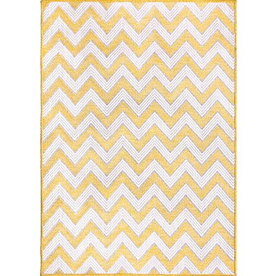 modern-rugs-yellow-chevron-rug