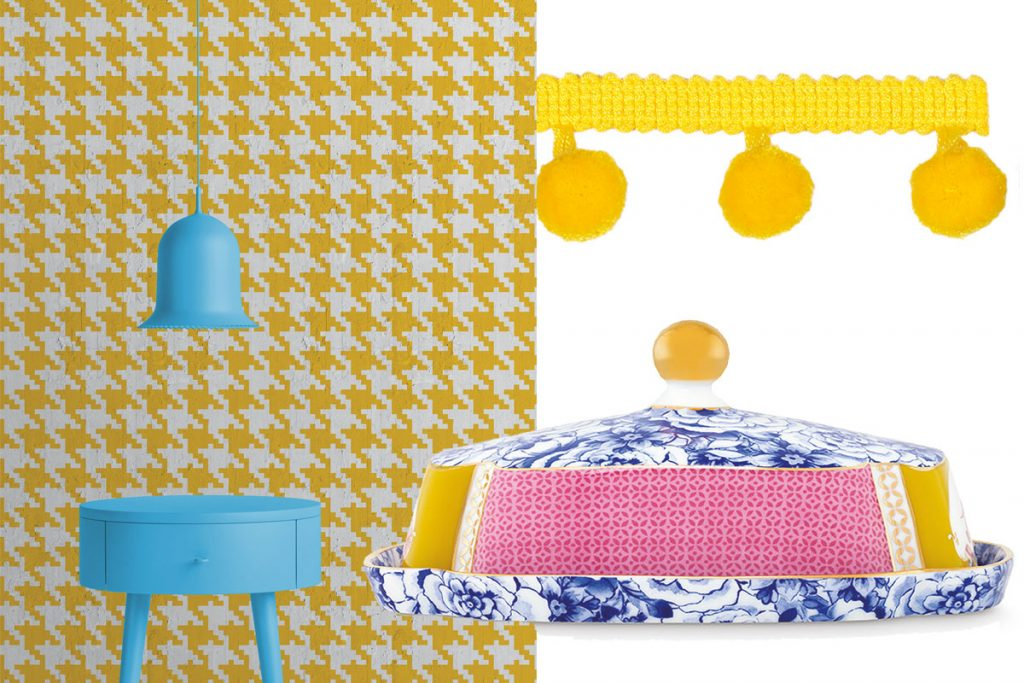 yellow-wall-print-butter-dish-and-trimming