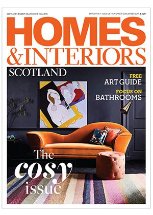 Homes & Interiors Scotland issue 127 front cover