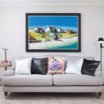 grey-couch-with-painting-above-it