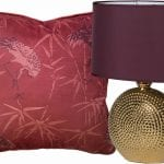 red-cushion-and-audenza-lamp
