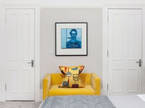 This Glasgow tenement reflects the chic, colourful characters of its owners