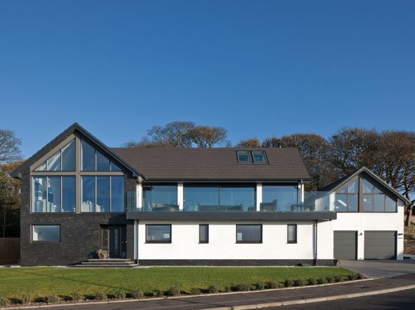 These self-build owners were happy to let their dream home in Fife evolve on site
