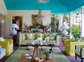 Designer Kit Kemp's Barbadian home is alive with colour