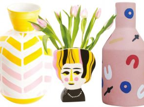 Six quirky vases for foliage or flowers