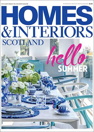 Homes & Interiors Scotland May & June 2020 front cover