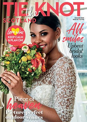 Tie the Knot Scotland Summer 2020 front cover