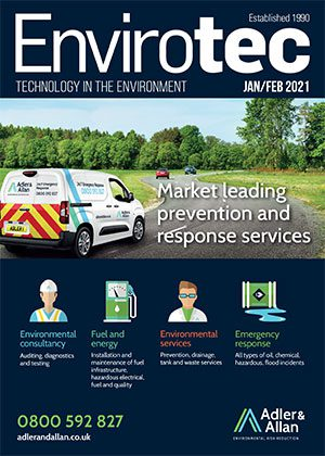 Envirotec Magazine front cover Jan-Feb 2021