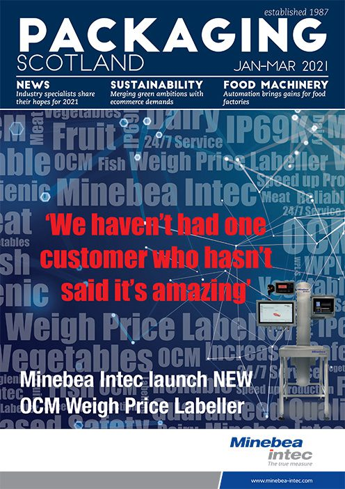 Packaging Scotland front cover Jan-March 2021