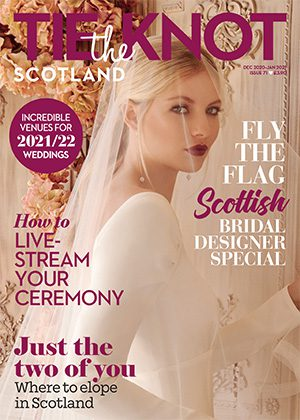 Tie the Knot Scotland front cover Dec-Jan 2021