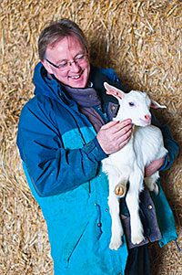 THE owner of a Scottish Borders cookery school has branched out into goat farming.