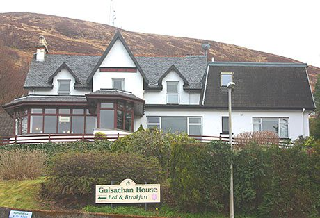 Guisachan House near Fort William has 17 letting bedrooms and owner's accommodation.
