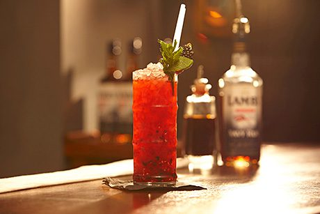 Lamb's Navy Rum cocktail recipes are available online as part of the campaign.