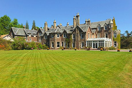 • Andy Murray bought Cromlix House earlier this year. He intends to convert it to a five-star hotel.