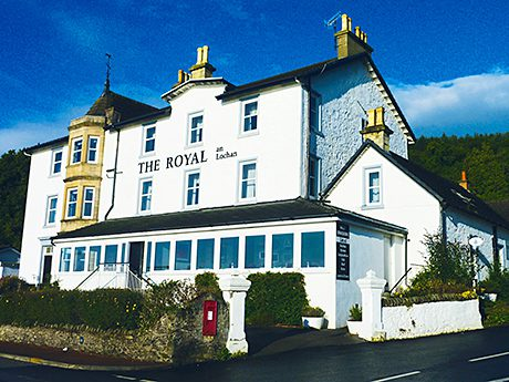 The hotel is located in Tighnabruaich.