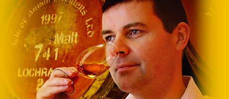 Toasting success: Isle of Arran Distillers boss Euan Mitchell said the firm is in good health.